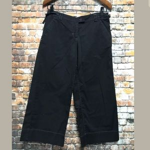 Sitwell Anthropologie Capri Pants Size 8 Cotton